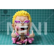 [SOLD OUT] Mini Studio : One Piece -  Big Head Series ‎Donquixote Doflamingo