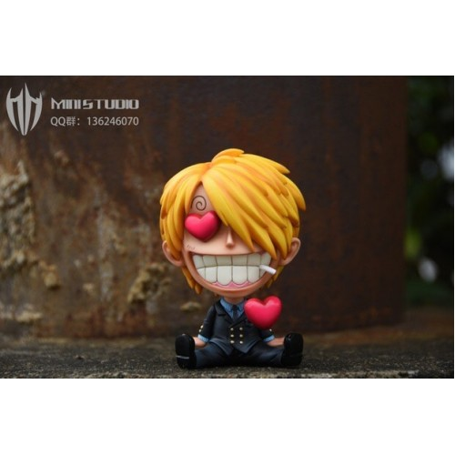 Sold Out Mini Studios One Piece Red Heart Eyes Sanji