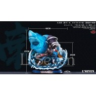 [PRE-ORDER SOLD OUT] LSeven Studio : Naruto - Max002 Kisame Half Transparent