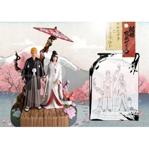 Sold Out 1 8 Scale Naruto Hinata S Wedding