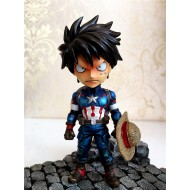 [SOLD OUT] Princekin Studio : One Piece - SD PK001 Luffy COS Avengers Captain America