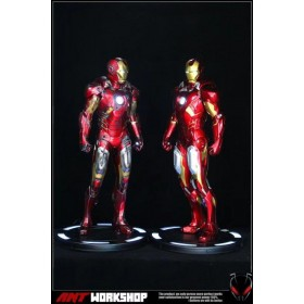 [PRE-ORDER] Ant Studio : 1/2 Iron Man Mark 7 Battle Damage